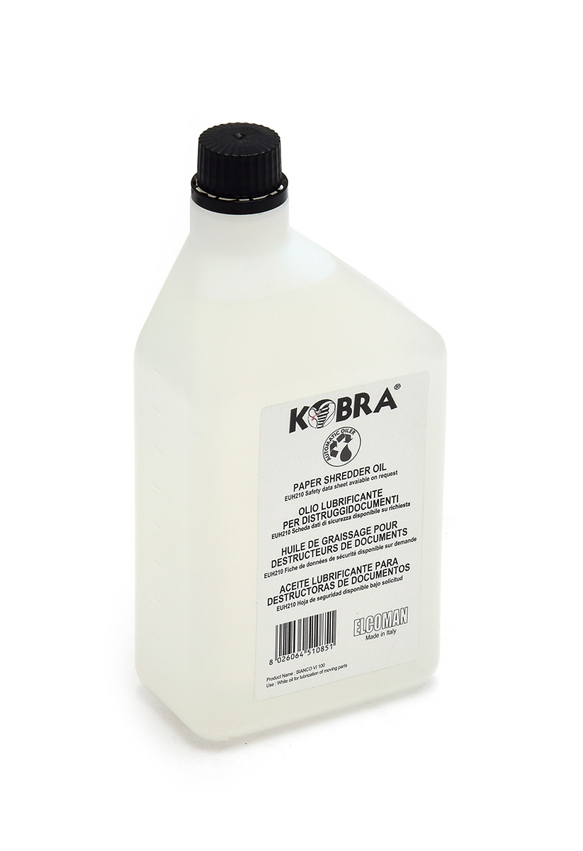Kobra oil for shredders 1000ml