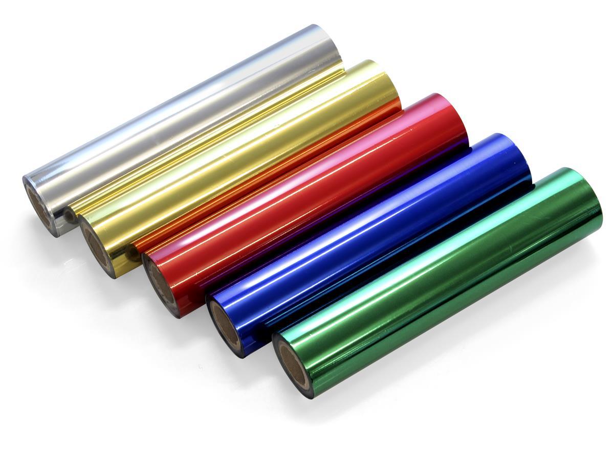 Metaliczna folia barwiąca - rolka