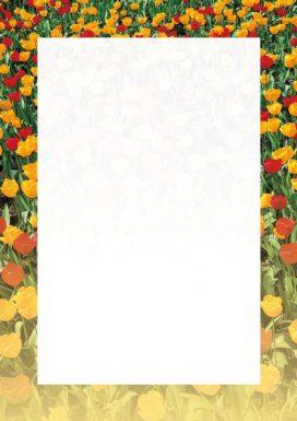 Arkusz Tulipany