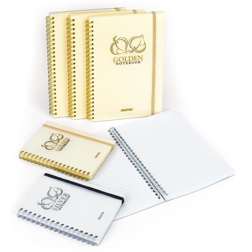 Notebook GOLDEN & SILVER