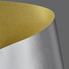 Decorative card paper Millenium gold-silver A3