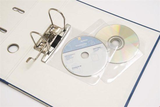 Kieszonki na płyty CD do segregatorów