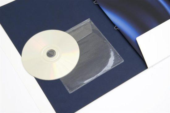 Kieszonki na płyty CDsamoprzylepne