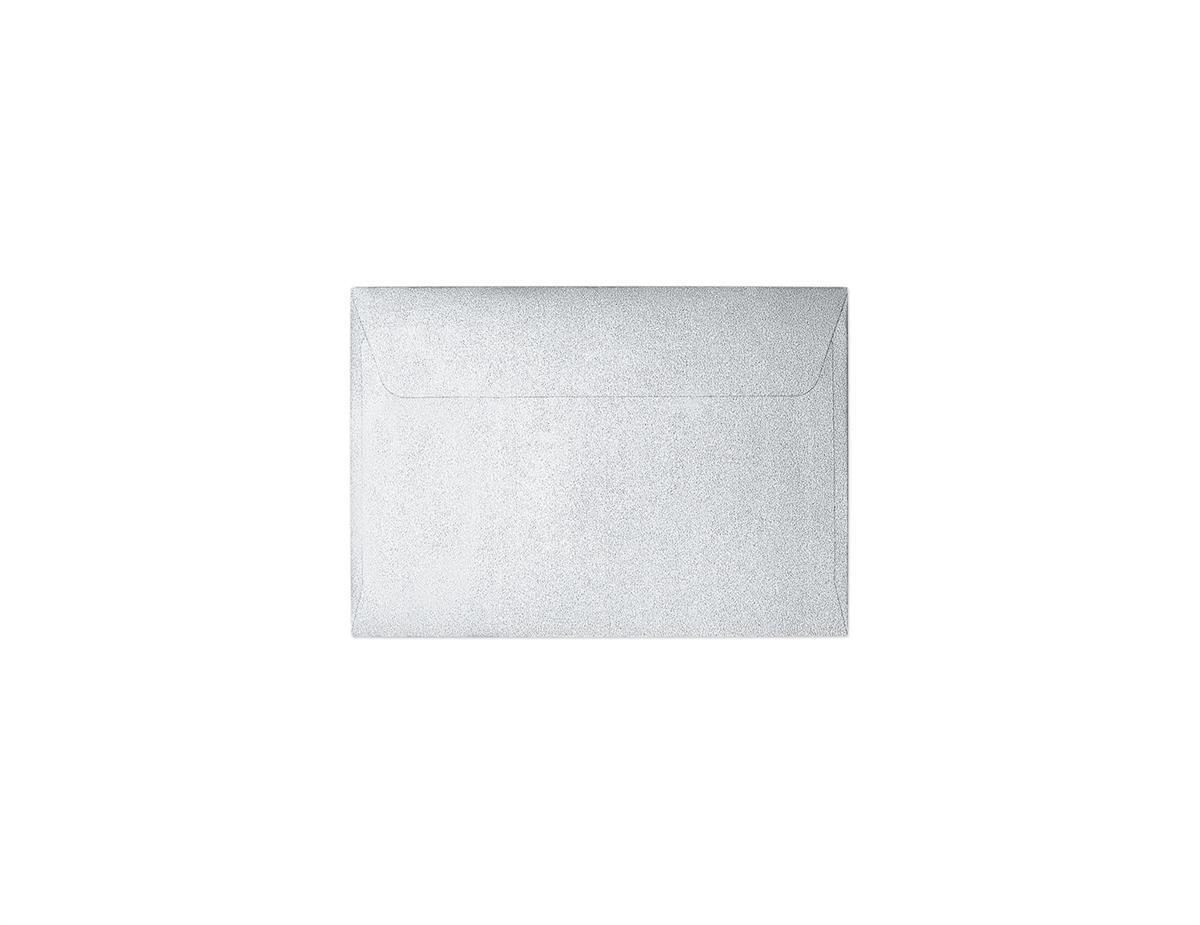 Koperta Pearl srebrny B7