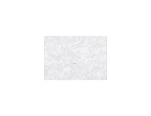 Koperta Róże biały B7