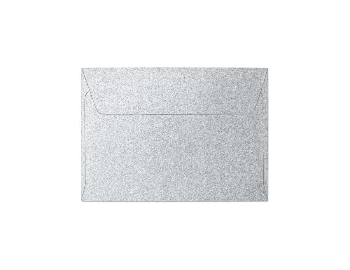 Koperta Pearl srebrny C6