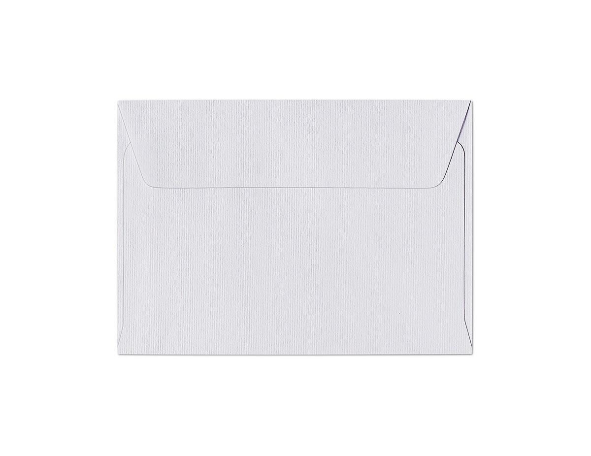 Koperta Prążki biały C6
