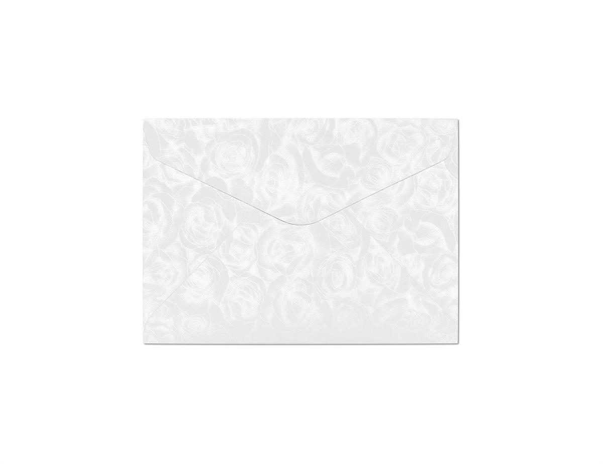 Koperta Róże biały C6