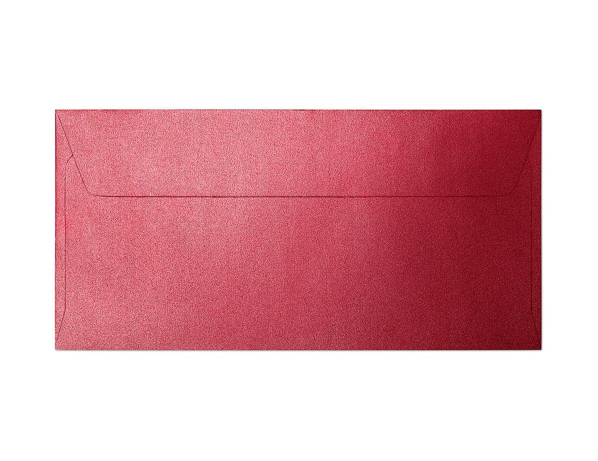 Koperta Pearl czerwony DL