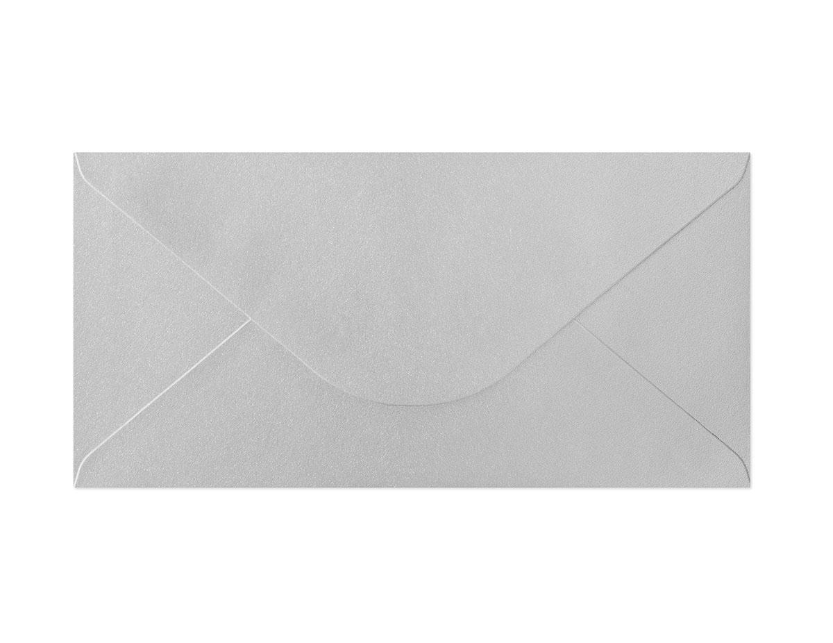 Koperta Pearl srebrny DL