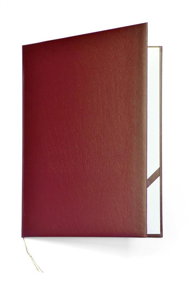 Okładka na dyplom Elegant bordowa