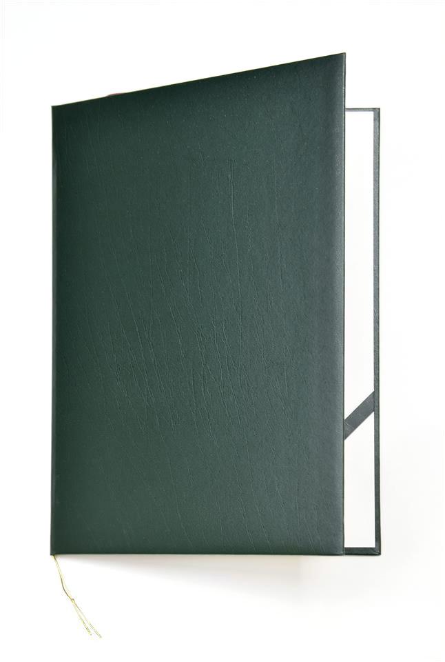 Okładka na dyplom Elegant zielona