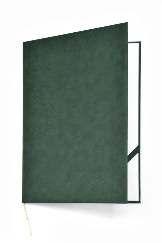 Okładka na dyplom Royal zielony