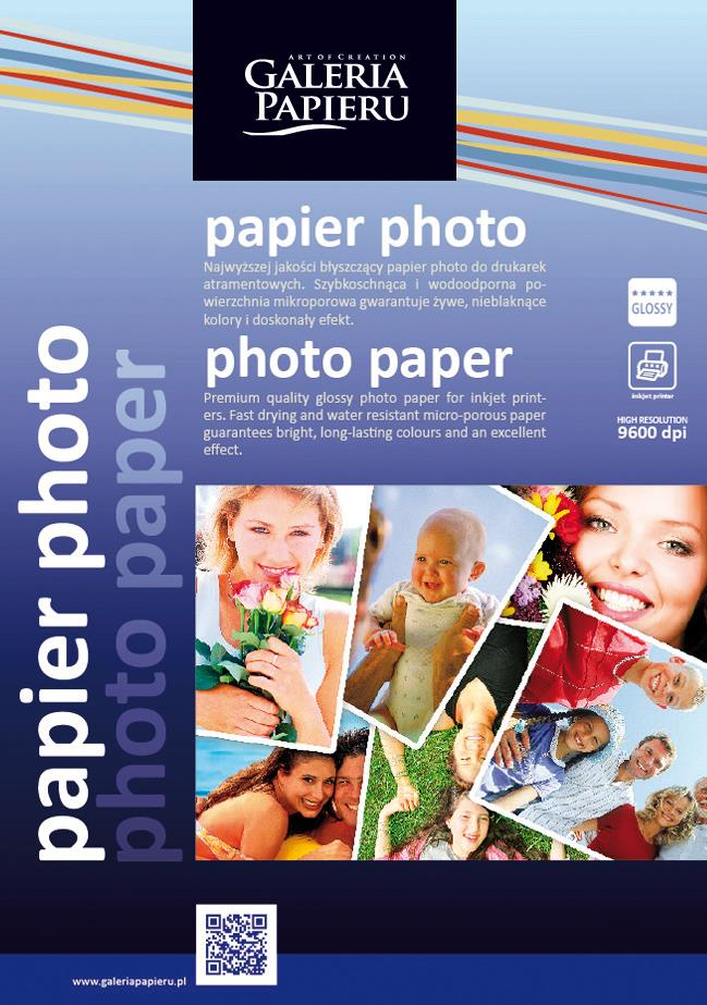 Papier A4 photo glossy 180g/m2
