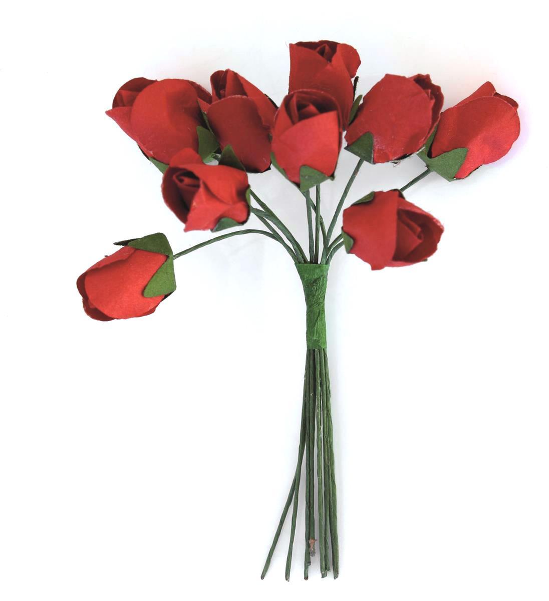 Kwiaty BUKIECIK Tulipany czerwony