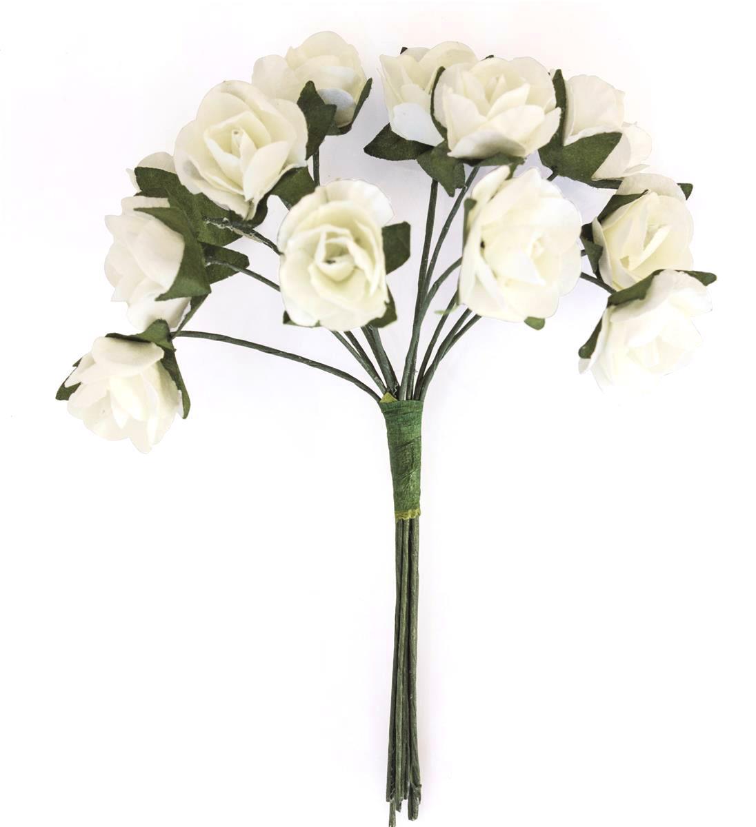 Kwiaty BUKIECIK Róże kremowe