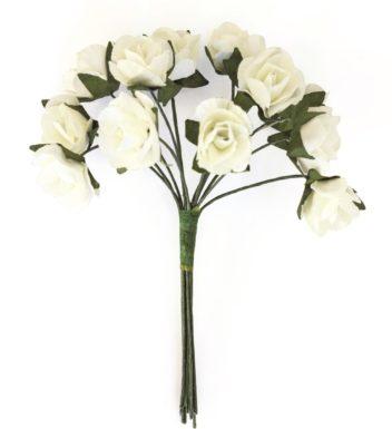 Kwiaty BUKIECIK Róże białe