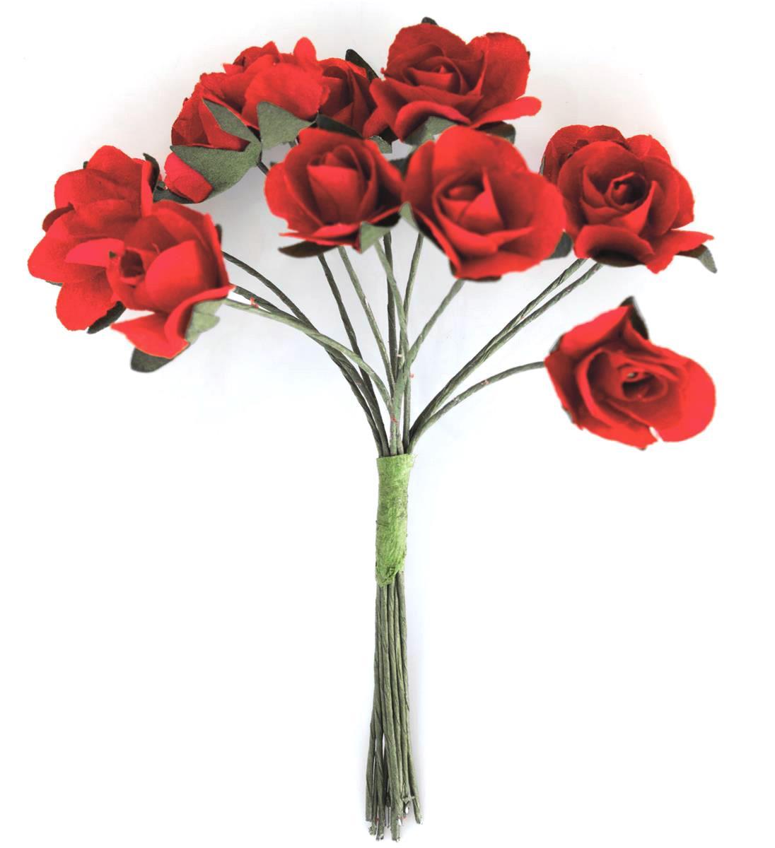 Kwiaty BUKIECIK Róże czerwone