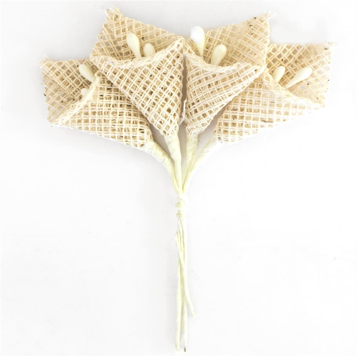 Kwiaty BUKIECIK Kalia beżowe