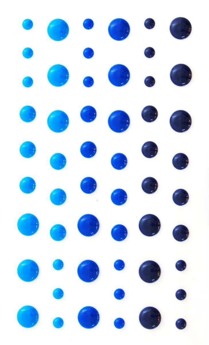 Kropki niebieskie