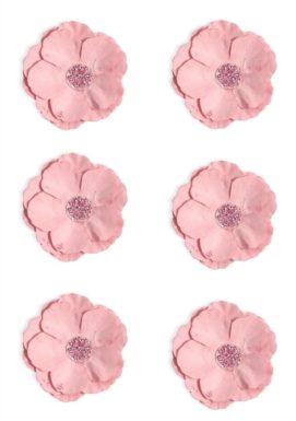 Kwiaty Clematis różowe