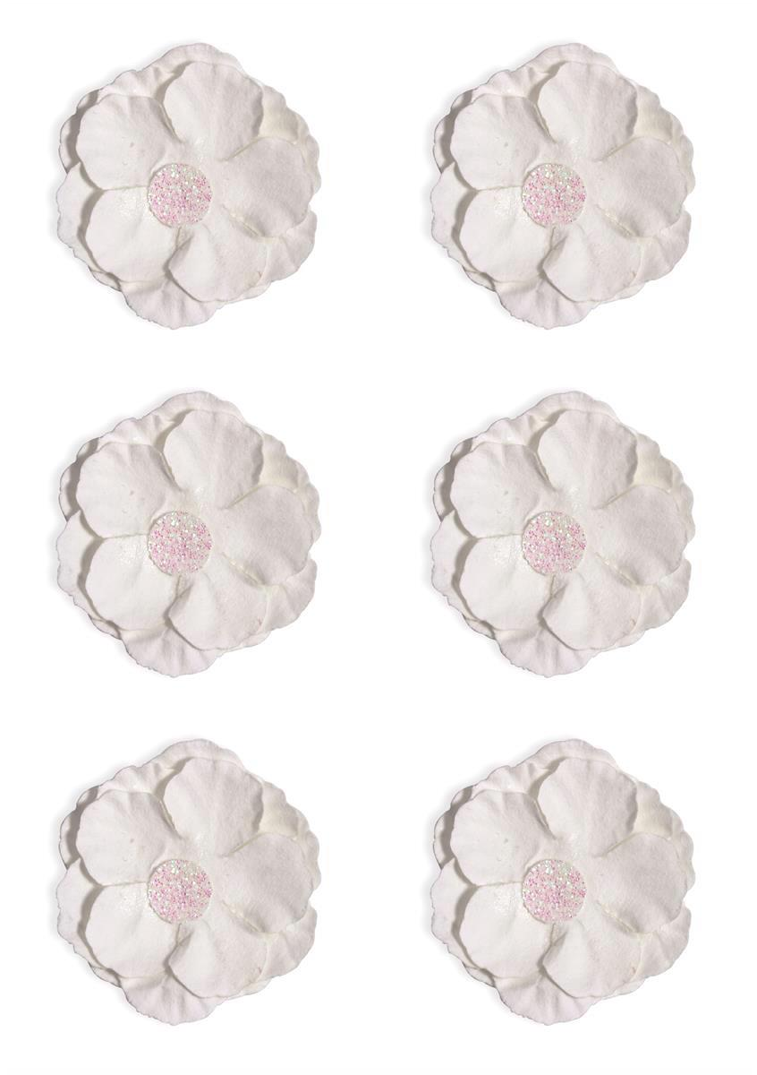 Kwiaty Clematis białe