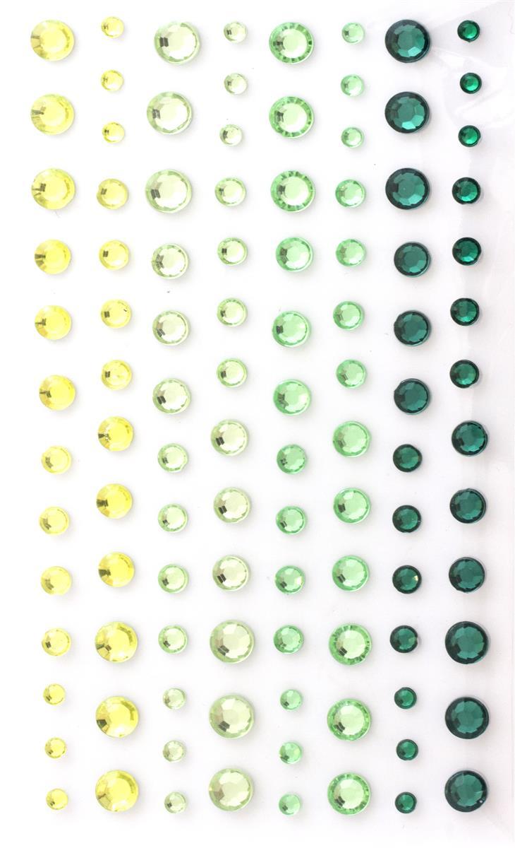 Kryształki zielone