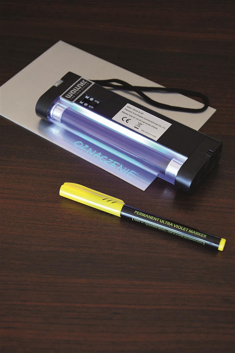 Marker ultrafioletowy - Tajnopis