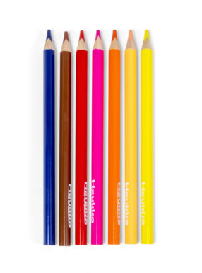 COLOURED PENCILS JUMBO 12 PIECES