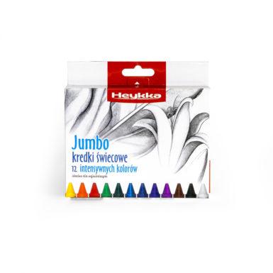 Kredki świecowe JUMBO 12 sztuk