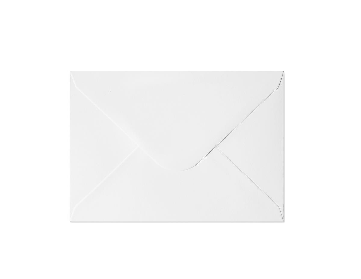 Koperta Gładki biały C6