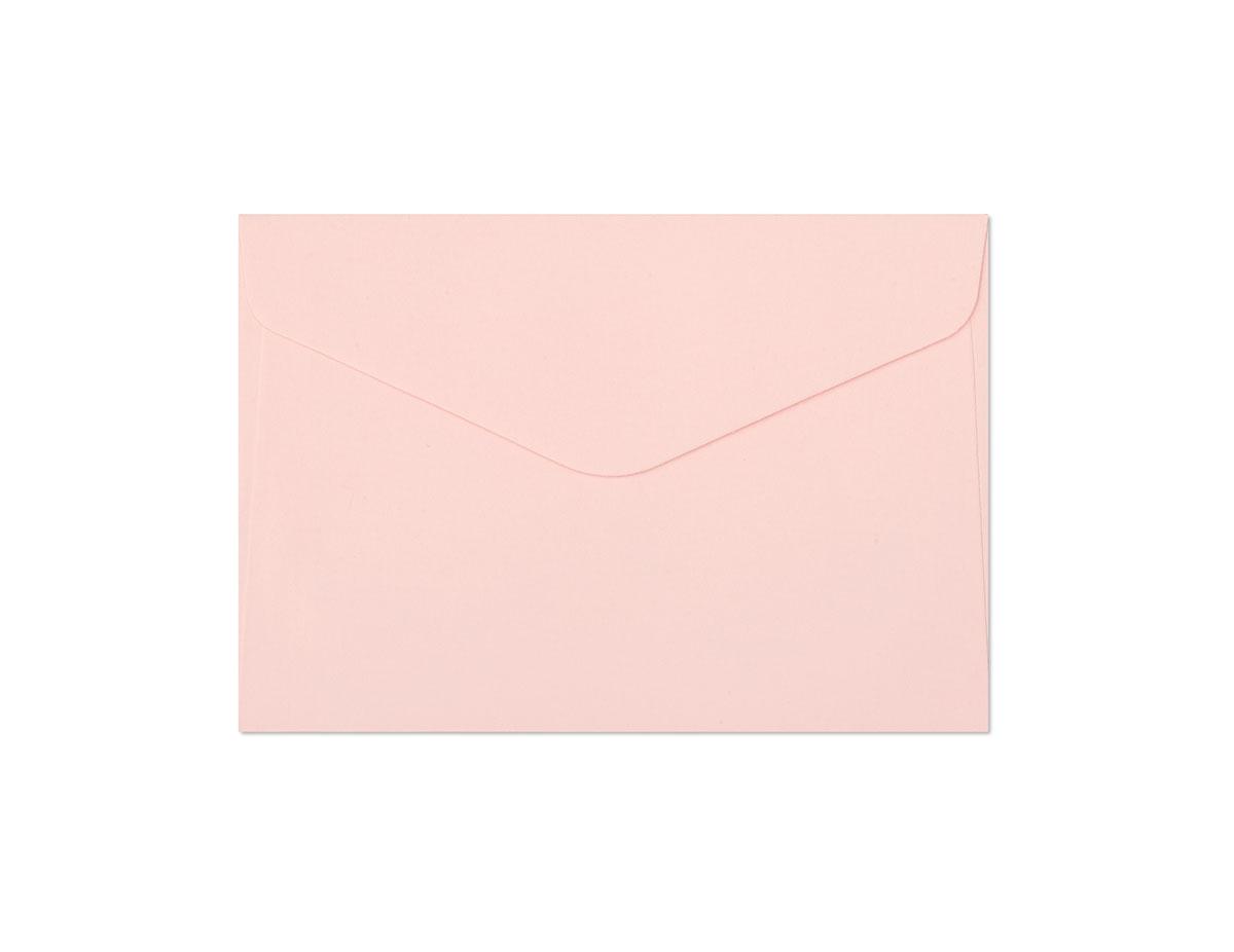 Koperta Gładki różowy C6