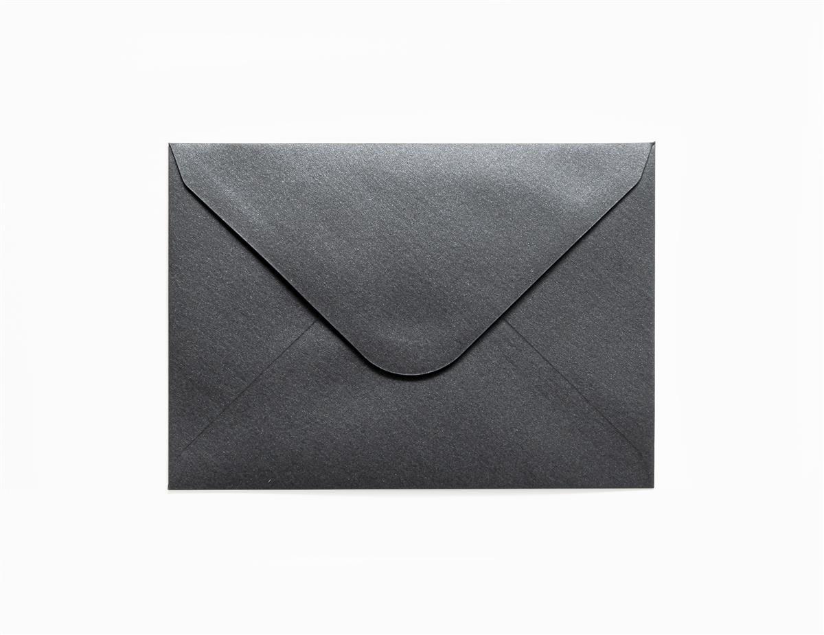 Koperta Pearl czarny C6