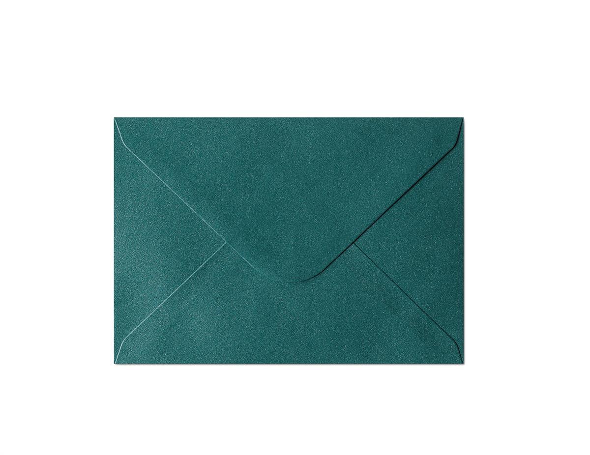 Koperta Pearl zielony C6