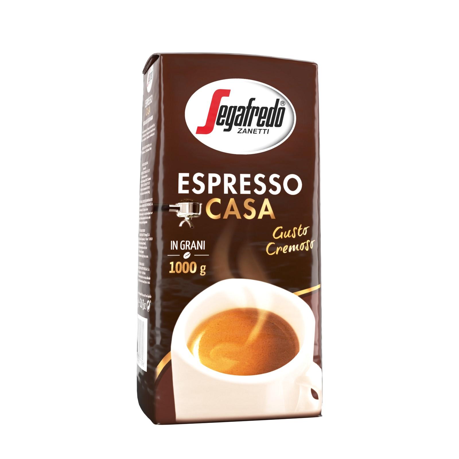 Segafredo Espresso Casa 1000g Coffee Beans