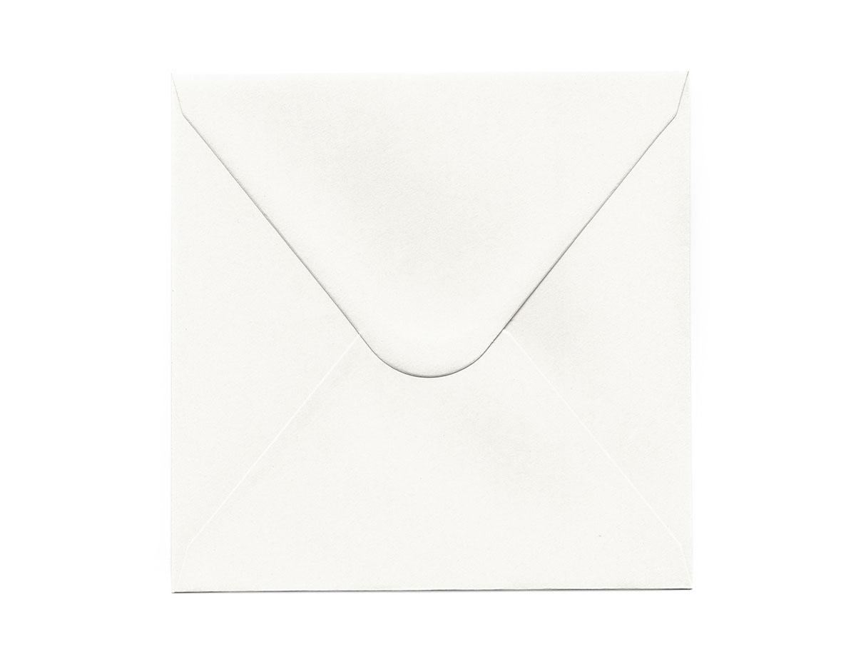 Koperta Gładki biały KW160