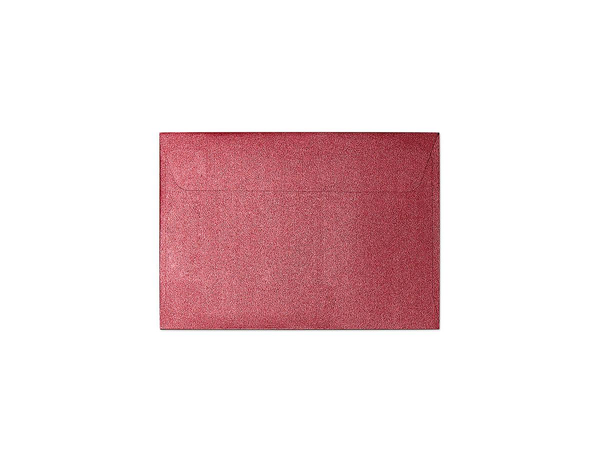 Decorative envelope Pearl red B7