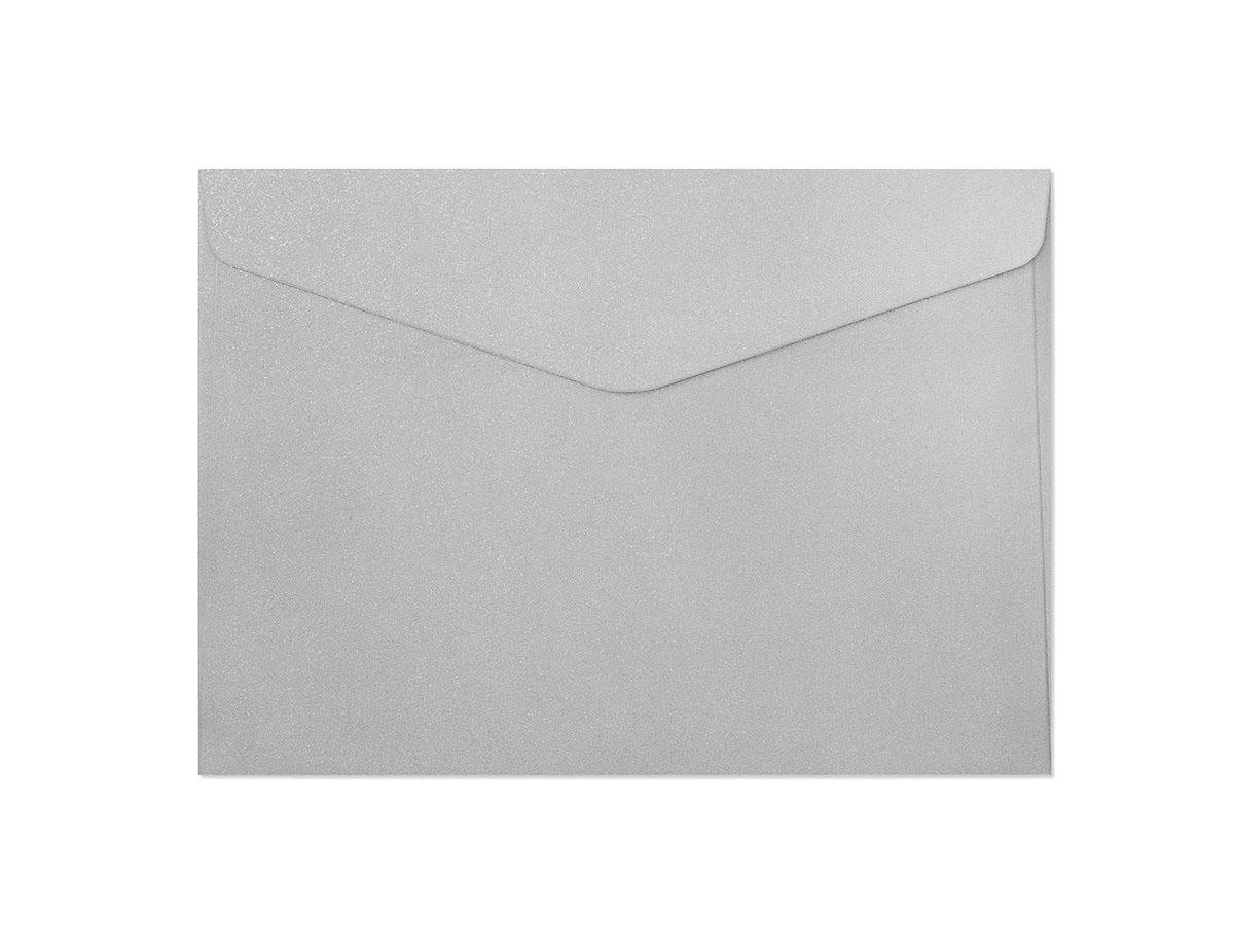 Koperta Pearl srebrny C5