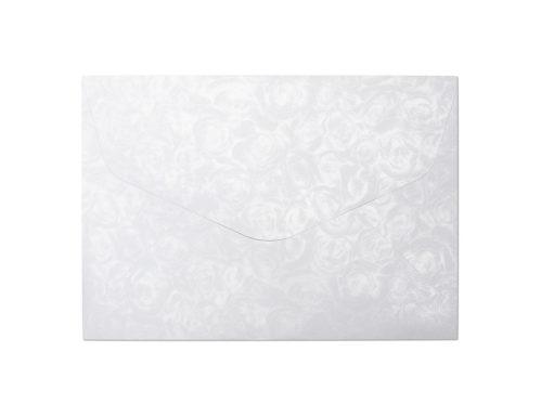 Koperta Róże biały C5