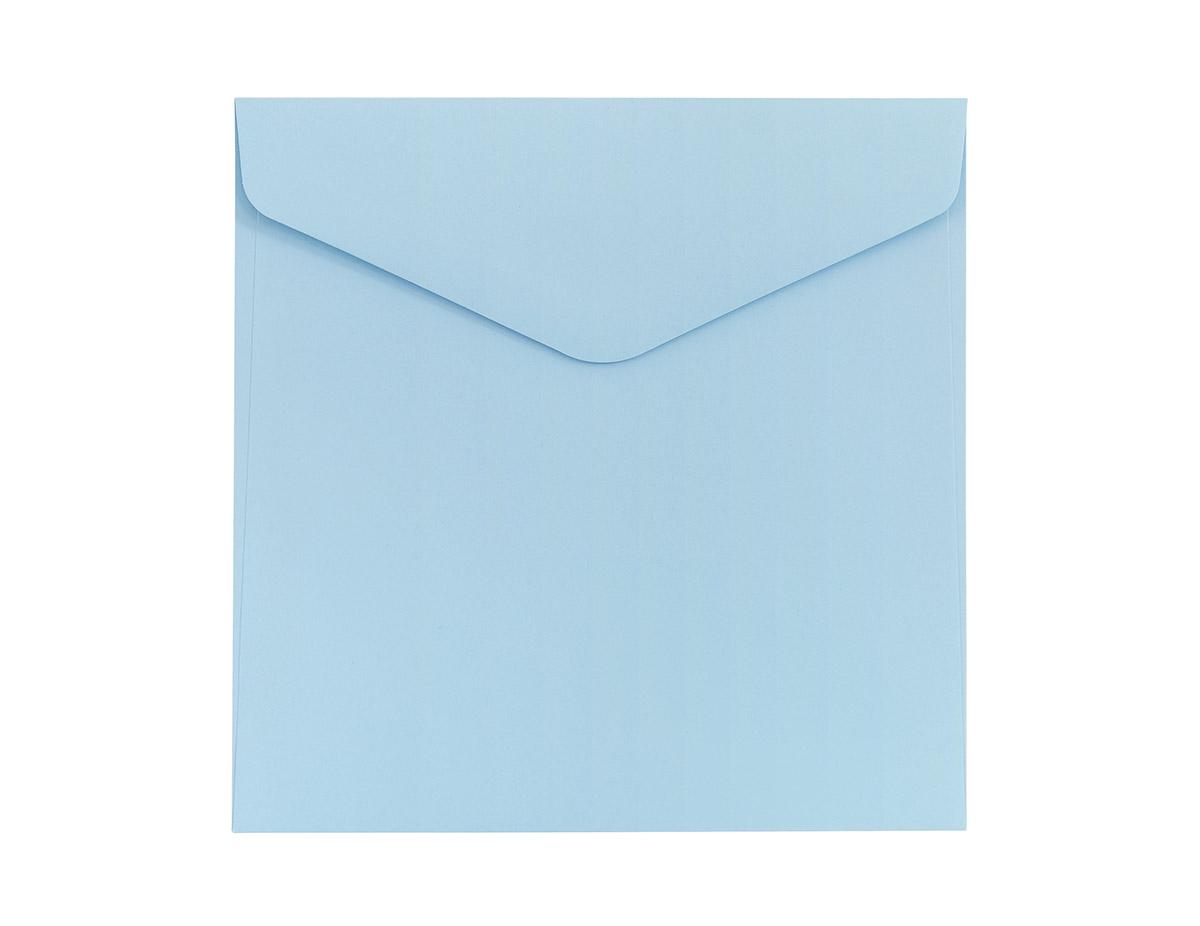 Koperta Gładki niebieski KW160