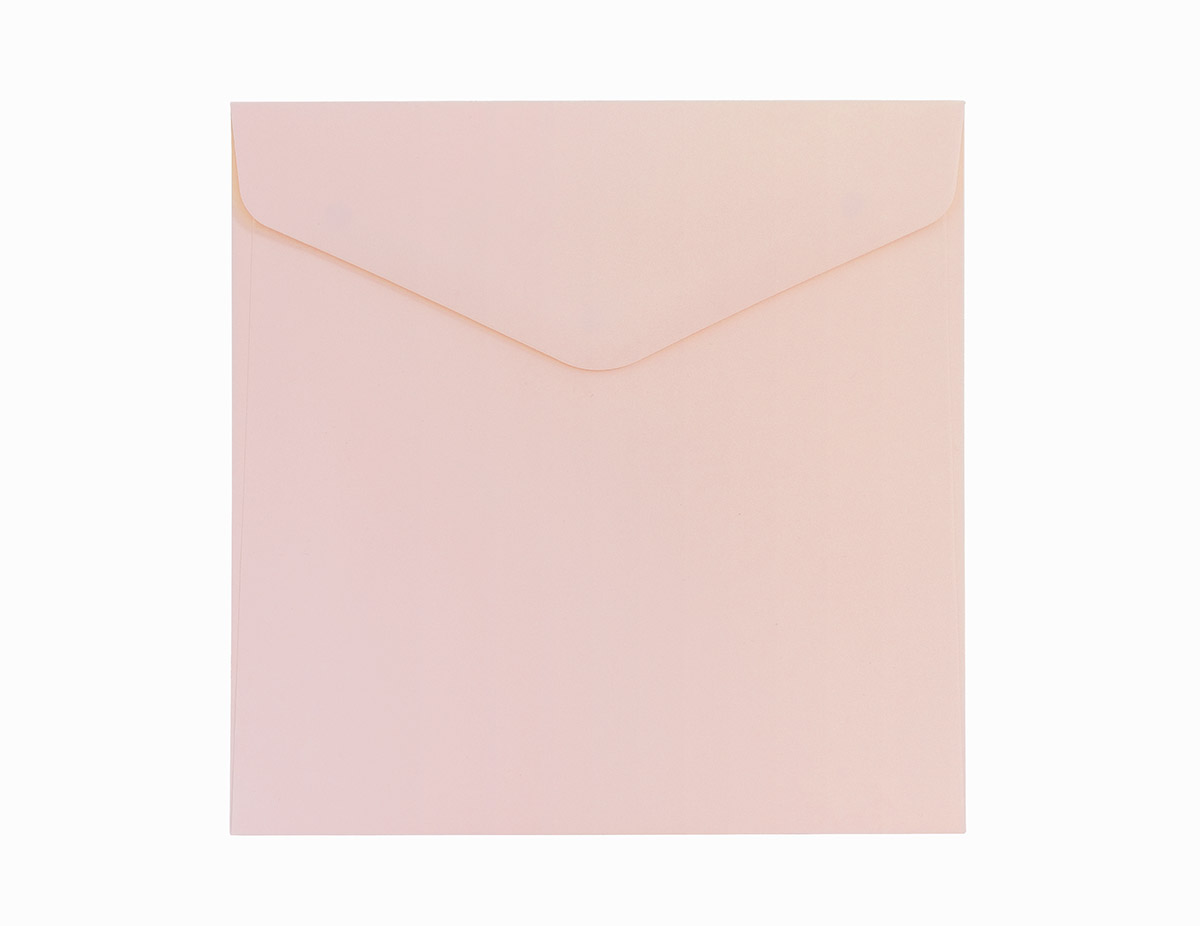 Koperta Gładki różowy KW160