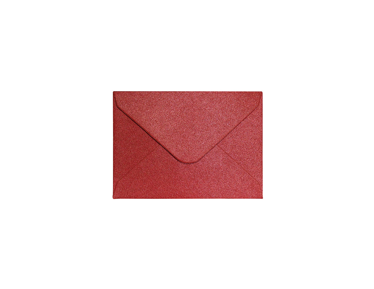 Koperta Pearl czerwony 70x100