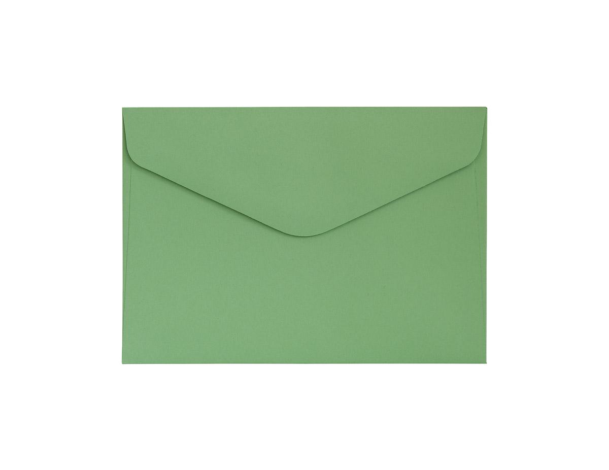 Koperta Gładki zielony C6