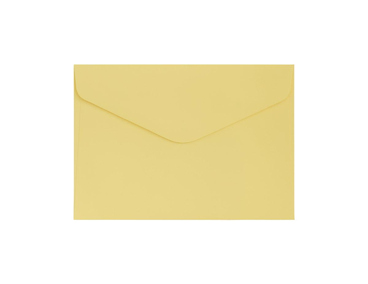 Koperta Gładki żółty C6
