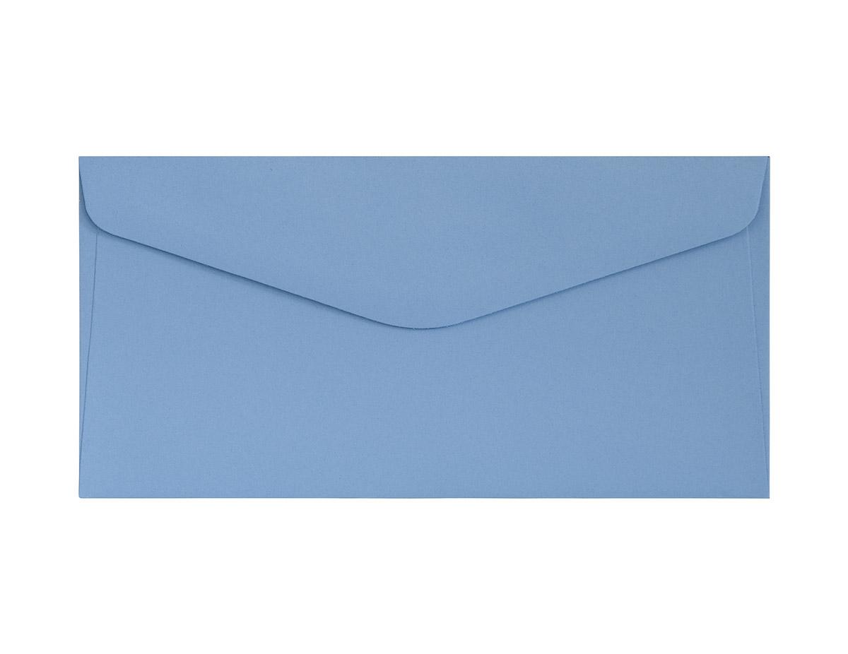 Koperta Gładki ciemnoniebieski DL