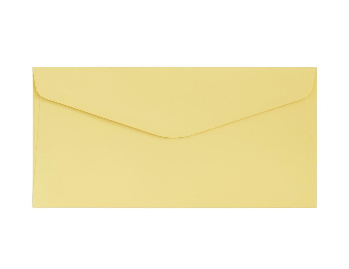 Koperta Gładki żółty DL
